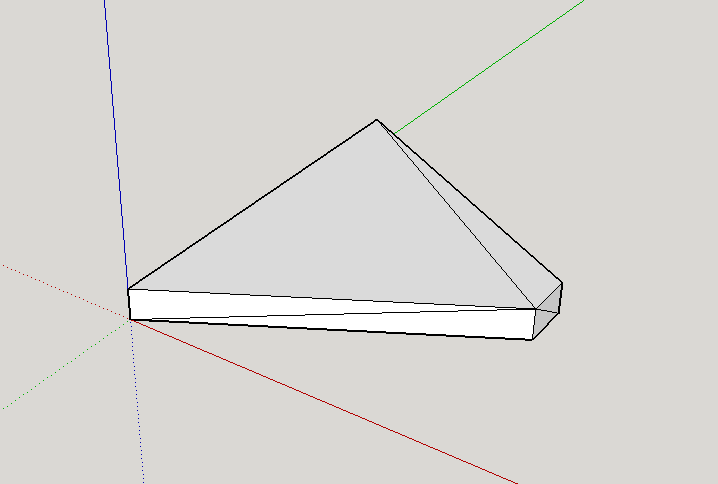 OpenSCAD stl imported into SketchUp